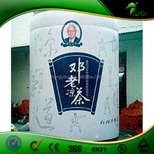 Factory selling Inflatable Sealed promotional bottle Replica/ advertising model