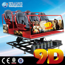 Cheap high profit 9d motion ride cinema