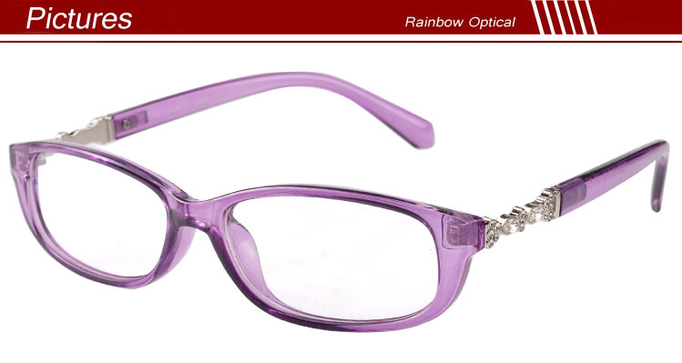 Glasses Frames For High Power : Diamond Decorate Reading Glasses For Elegance Women Full ...