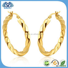 Fashion Accessories Gold Hoop Earrings Wholesale