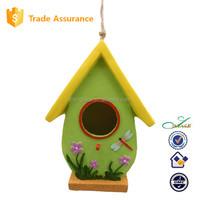 resin garden outdoor decorative birdhouse