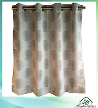 Latest curtain designs ready made decorative jacquard fabric curtain