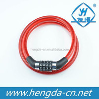 YH1220 Cable combination Lock Type and Steel Material Bicycle Cable combination Lock