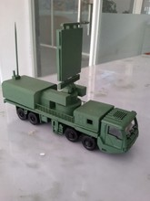 building model scale 1/50 military armored vehicle