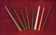 Colored quartz tube,OD2mm-4mm,Red quartz tube, black quartz tube,green quartz tube,Rose quartz tube