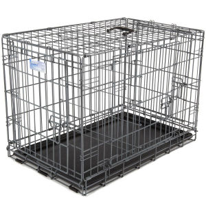 """high quality TPL 24"""" ,36"""" PE Rattan Two Dog Metal Dog Cage with best price"""