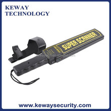 High Sensitive Hand held Metal Detector with Leather Case, Cheap Price Handheld Metal Detector