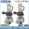 Super Brightness 6500K Hi/Lo 12V 24V 3200lm HB5 9007 Led Headlight Bulbs and New Products Led Headlight Bulb 9007