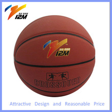Sporting laminated basketball for promotional gift