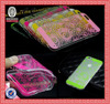 HOT For iPhone5 5S Silicone TPU Soft Vintage Clover Clear Case Cover
