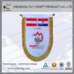 New design soccer pennants for wholesales