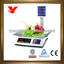 Exalted 40KG fruits and vegetables display weighing scale