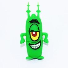 2015 wholesale green cartoon usb flash drive kids gift usb stick 100 % real usb pen drive