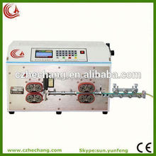 low price cutting and stripping machine (for flat cable)