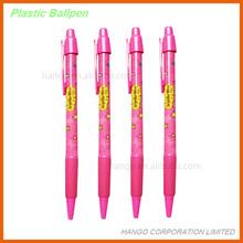 Imprinted Promotional Plastic Ball Ink Pen Ballpoint Pen