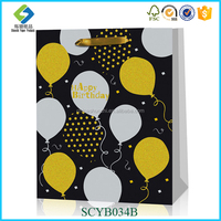 Wholesale Custom Promotion Reusable Paper Shopping Bag