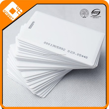 Logo Branded Hot sale white PVC smart card with chip