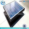 Energy saving thermostat controlled exhaust fan solar power ceiling attic roof space ventilation