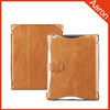 Standing leather case for ipad leather case