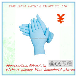 Latex gloves finger textured /Surgical Glove Powdered&Powder Free byCE ISO
