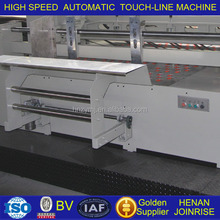 One-off indentation forming Accurate Automatic electric Cardboard Touch Line machine with ISO/BV