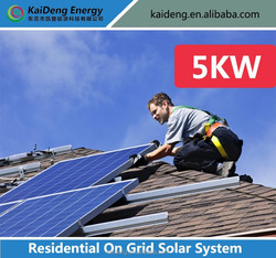 25 years power output guarantee on solar panel 5KW solar home system