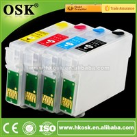 T1281-T1284 ink Cartriges for Epson SX130 SX235W Refill ink cartridges with Auto Reset Chip