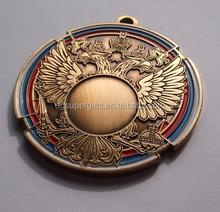 Top sell factory price custom sport medal / engraved medallion