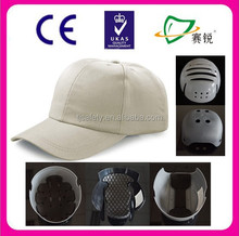CE EN812 abs ventilated safety bump cap,safety working hat
