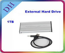 Más barato! disco duro externo/ USB2.0 1TB disco duro externo