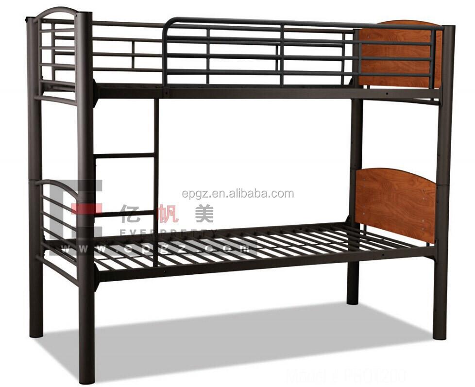 heavy duty lit superpos en m tal pour l 39 arm e ou de camping ou dortoir. Black Bedroom Furniture Sets. Home Design Ideas