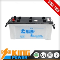 Best quality 12V150AH Dry charged auto battery car battery Dry N150