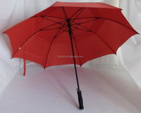 30 Inch Automatic open 2 canopy umbrella with air vents golf style
