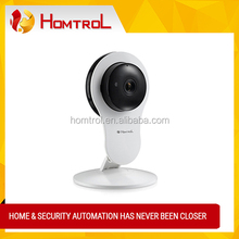 Smart Home HD Wifi Network Cube IP Camera with Digital Zooming and Ceramic LED HD Night Vision Light 2 Way Communication Camera
