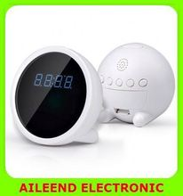 1280*720 720P H.264 P2P Wireless Network WIFI clock hand camera