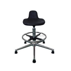 esd antistatic PU leather stool height adjustable Laboratory Stool