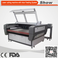 AZ-1610F China dongguan manufacturer automatic x6 cutting machine fabric layer cutting machine for garment used laser cutter