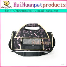 Traditional pattern Portable airline approved dog carrier