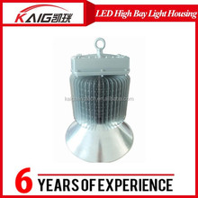 2015 new products aluminium lampshade frame led high bay light housing COB 350-400W