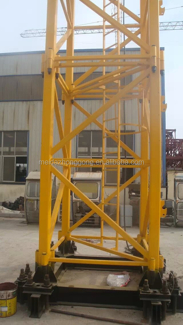 Mini Tower Cranes : Jib tower crane hot sale m max height length