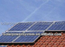 CE TUV proved 10000w 3 solar panel installation