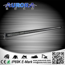 High lifespan AURORA unique design 50inch single row led light for car accessories tuning