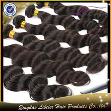 Wholesale price tangle free no sheding 5a grade body wave organic hair color