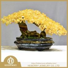new fashion gemstone quartz crystal tree best wedding gift or home decor