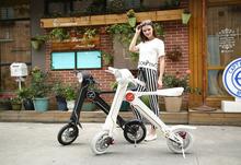 Fashion K1 two wheel electric vehicle/ foldable electric bike
