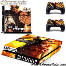 New skin cover Battlefield Battle Field Hardline skin sticker for SONY PS4 Brand