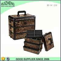 china aluminum beauty box high quality cosmetic vanity case