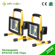 12v High Lumen Outdoor Rechargeable LED Floodlight