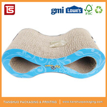 Cat Scratcher Cardboard Two Side Cat Toys Lounge Chair