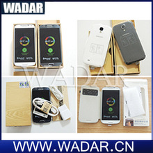 Original unlocked mobile phone, leather case separate parts for samsung galaxy s4 i9500/i9505